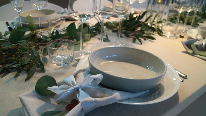 Table setting – New Year'sEve