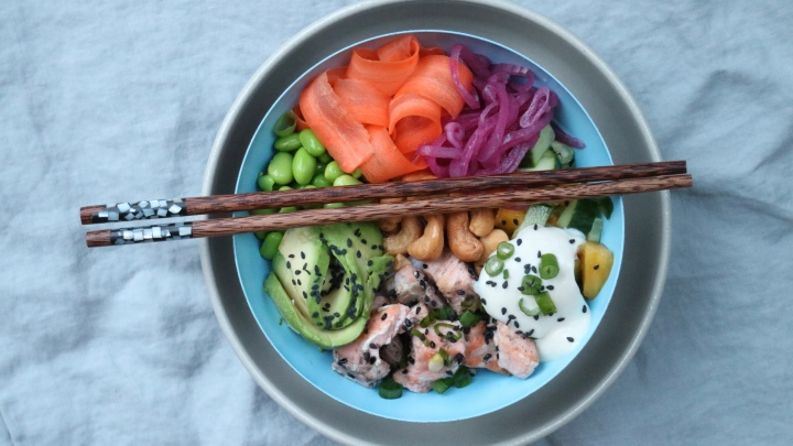 Super poké bowl