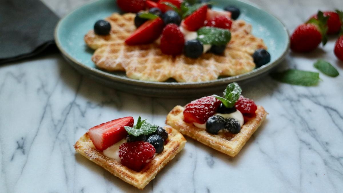 Scandinavian waffles