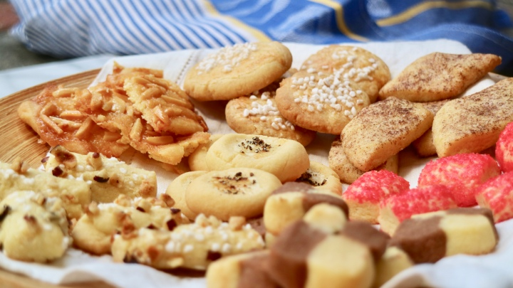 Seven different kinds of cookies (Sju sorters kakor)