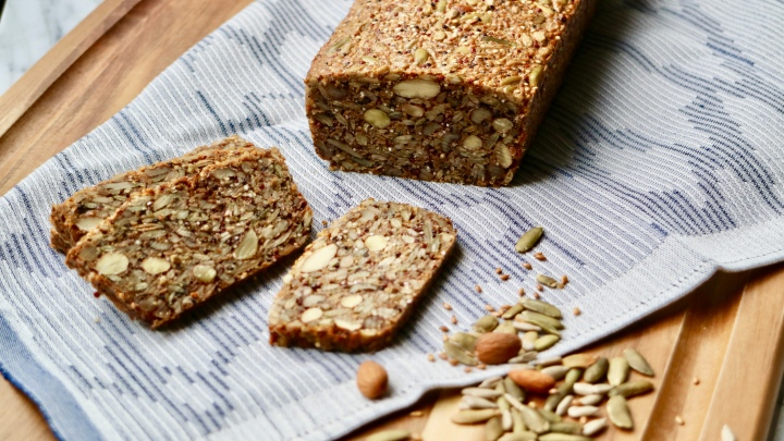 Danish Nut Bread (Paleo bread)