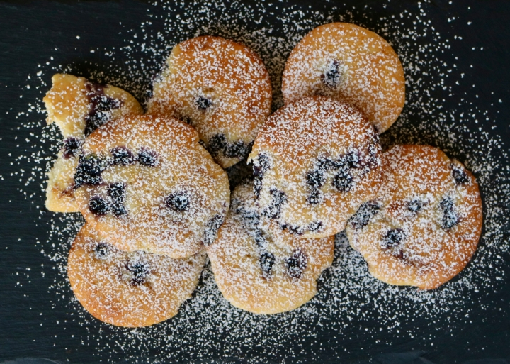 Blueberry and gingermuffins