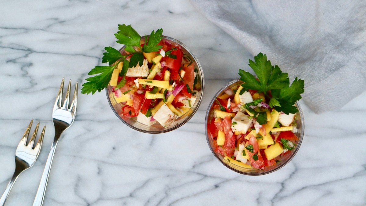 Ceviche (without raw fish)